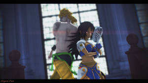 MMD - In the shadow of DIO by CogetaCats