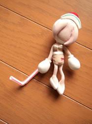 Bubble head nurse (Super bomberman R) by Elza8
