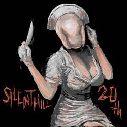 SILENT HILL 20th anniversary by Elza8
