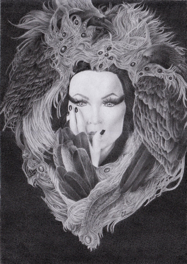 Tarja - The Shadow Self by xXIvanaNWXx