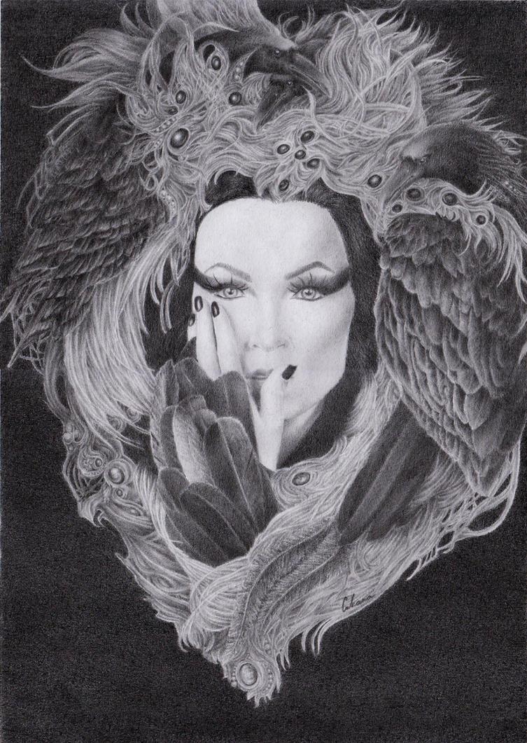 Tarja - The Shadow Self by xXIvanaNWXx