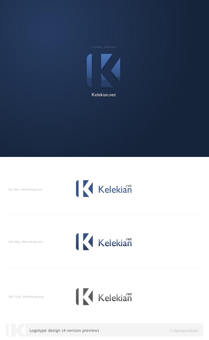 Kelekian.net Logotype by daemonumbrae