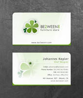 BE2WEEN Corporate Card by daemonumbrae