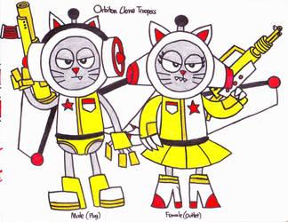 Orbiton Clones by RocketBunny99
