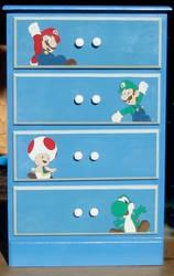 Super Mario Dresser
