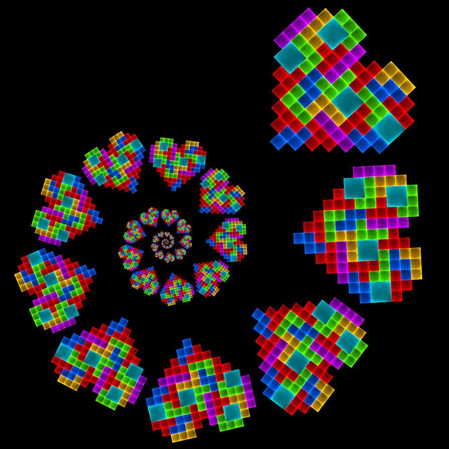 Tetris Love by Cosmic-Cuttlefish