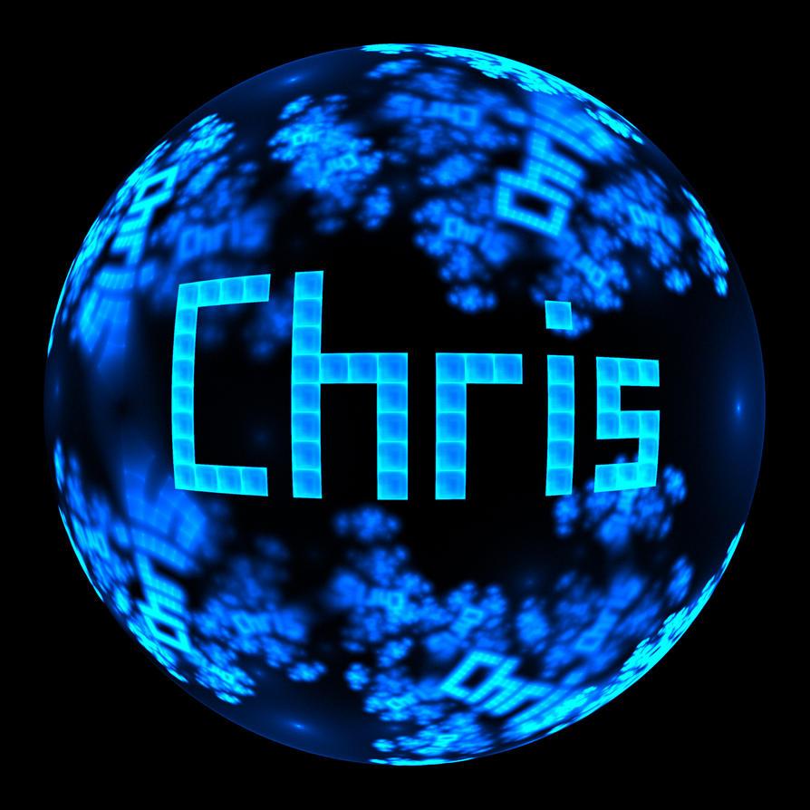 Fractal Name - Chris by Cosmic-Cuttlefish on DeviantArt