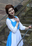 Belle Blue dress cosplay
