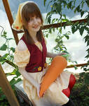 Lillian Cosplay with Carrot [Harvest Moon ToTT] by Hikamaus