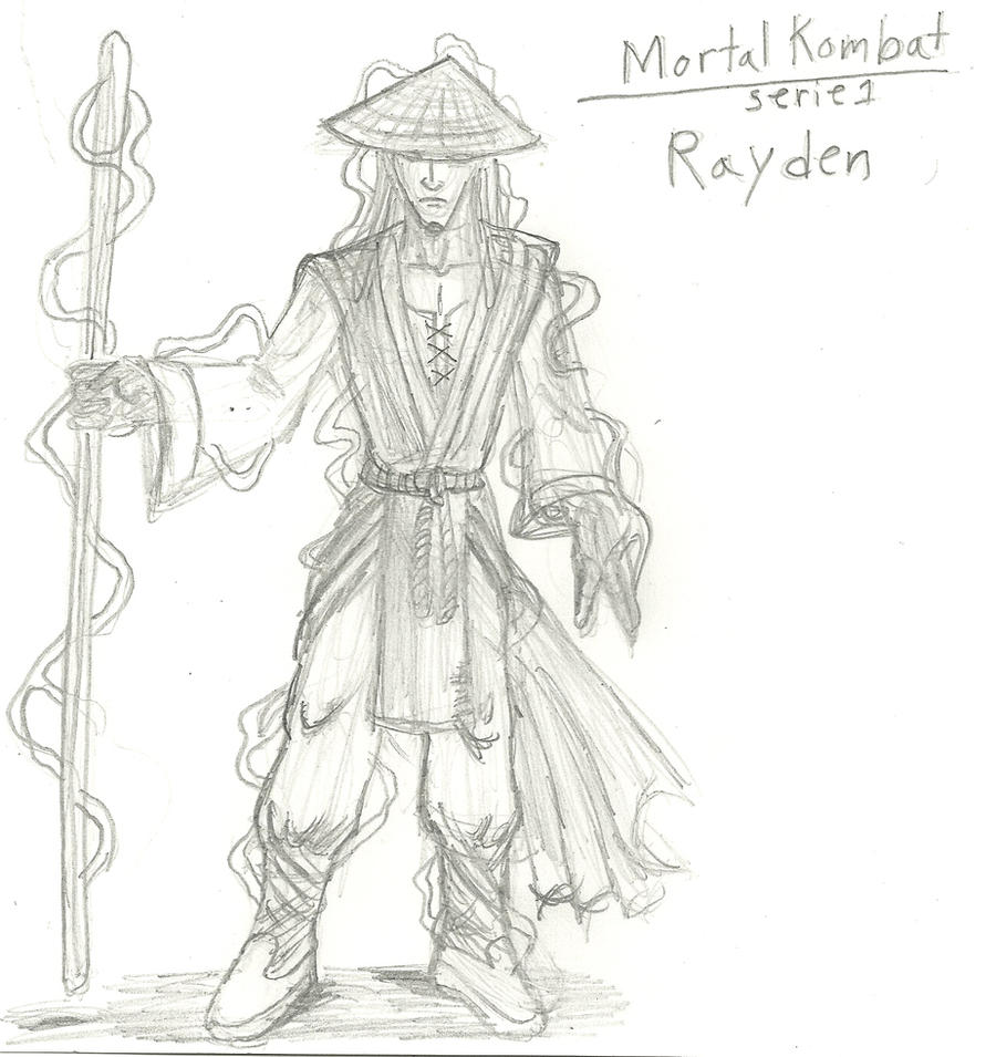 Mortal Kombat Raiden Drawings Mortal Kombat- Raiden ...