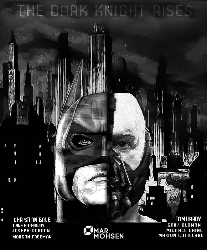 The Dark Knight Rises by omarmohsen