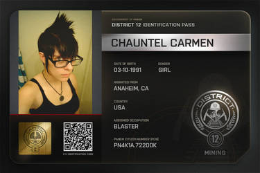 My Hunger Games Id by chauntel123