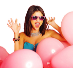 Selena Gomez Hit the Lights PNG