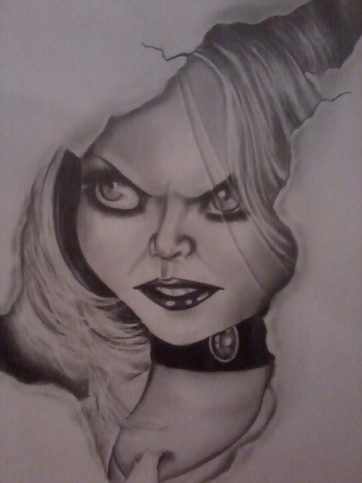 The Bride Of Chucky (a noiva de chucky) by AleQuinn on ...