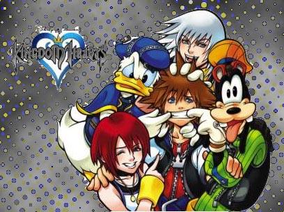 Kingdom Hearts by applesduh