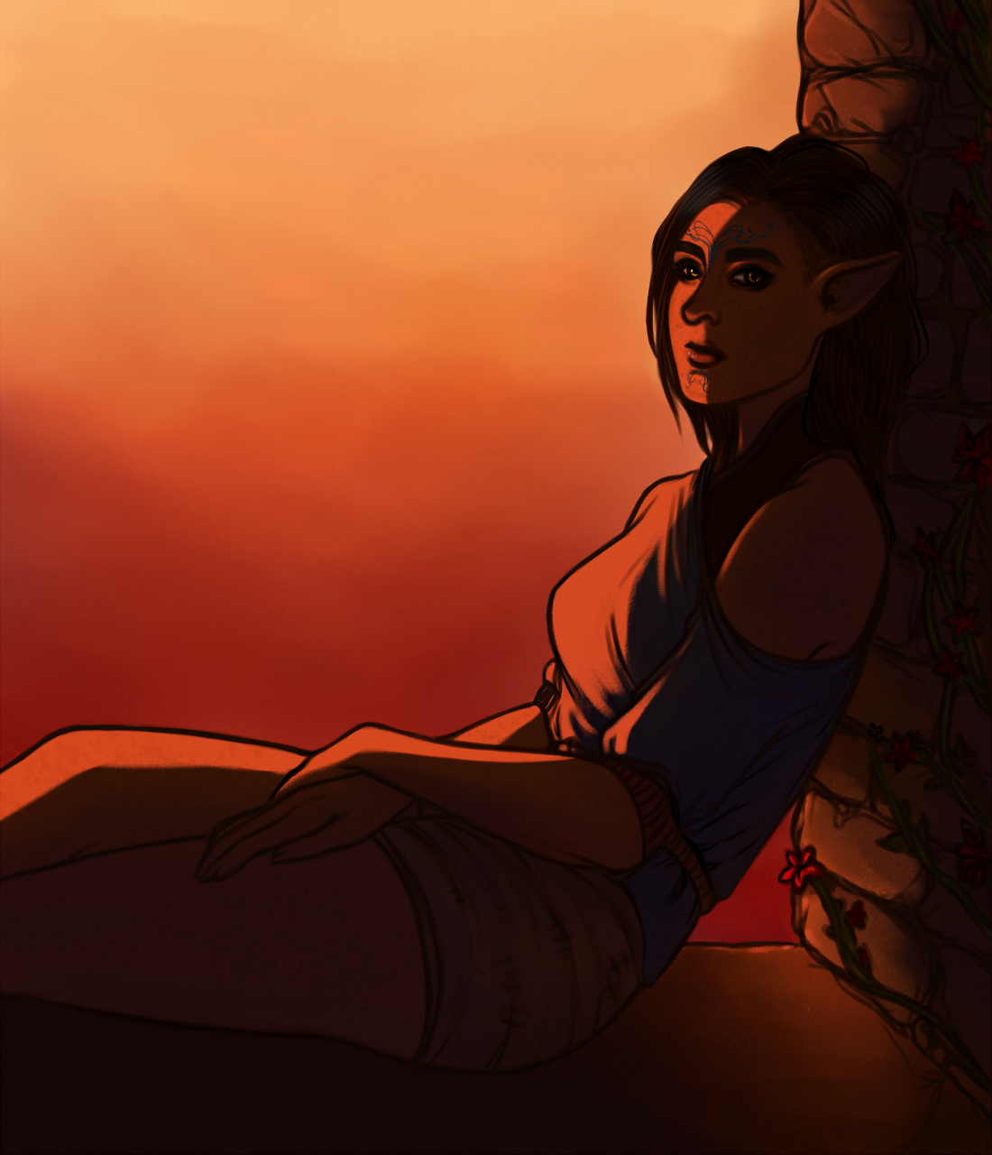 DAI: Ashanna [Commission] by LadyTheirin