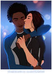 MEA: Valerie and Liam [Commission] by LadyTheirin