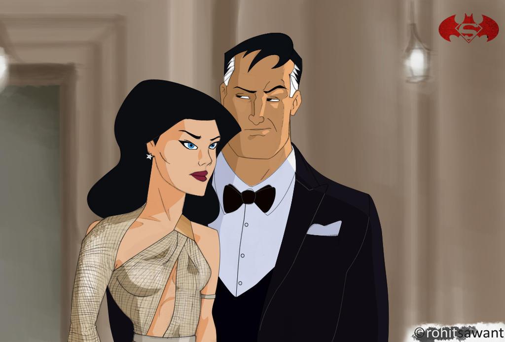 Batman v Superman - Diana | Bruce Wayne TAS by Rohit-Sawant