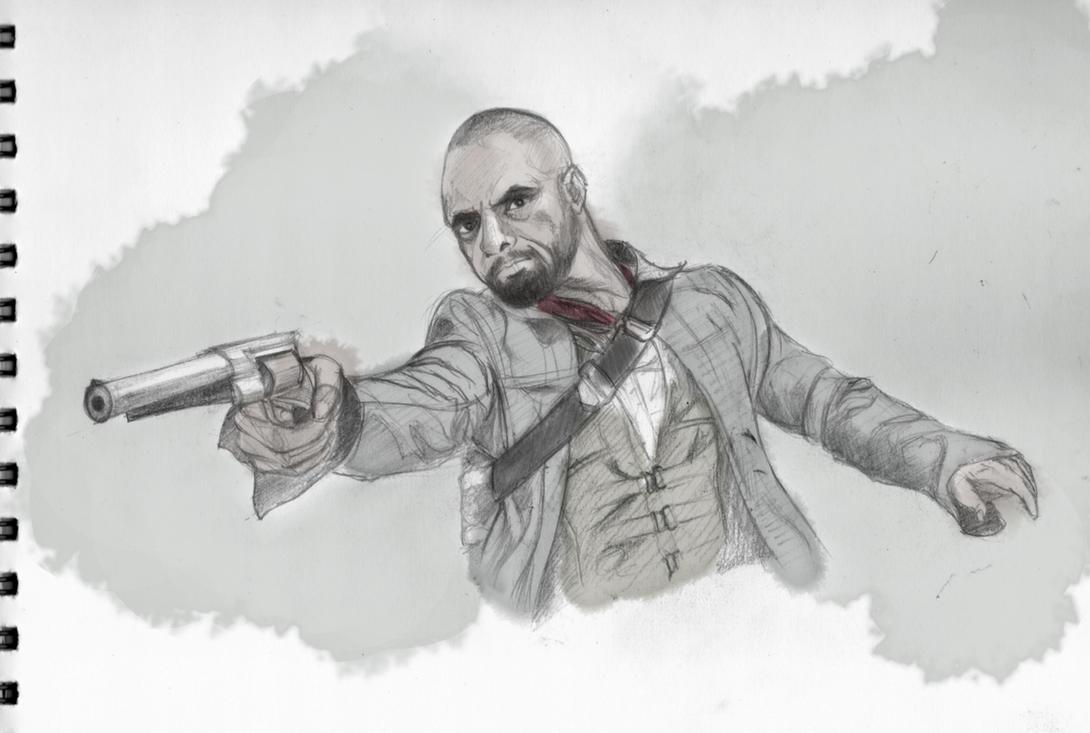 The Gunslinger - Roland Deschain by Rohit-Sawant