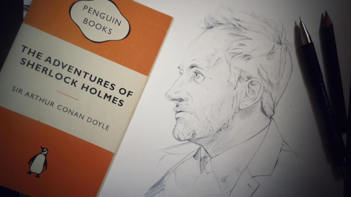 Sherlock Holmes - Jonny Lee Miller by Rohit-Sawant