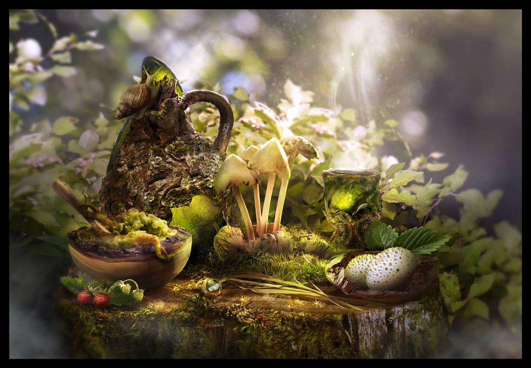 Magic breakfast by Tyami