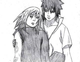 Sasuke and sakura by tigermaster22