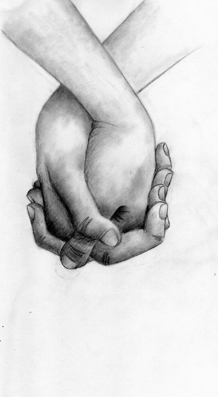 Pencil Drawings of People Holding Hands People Holding Hands Pencil