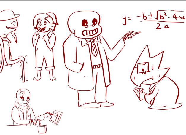 Undertale Doodles By Badcorvus On DeviantArt