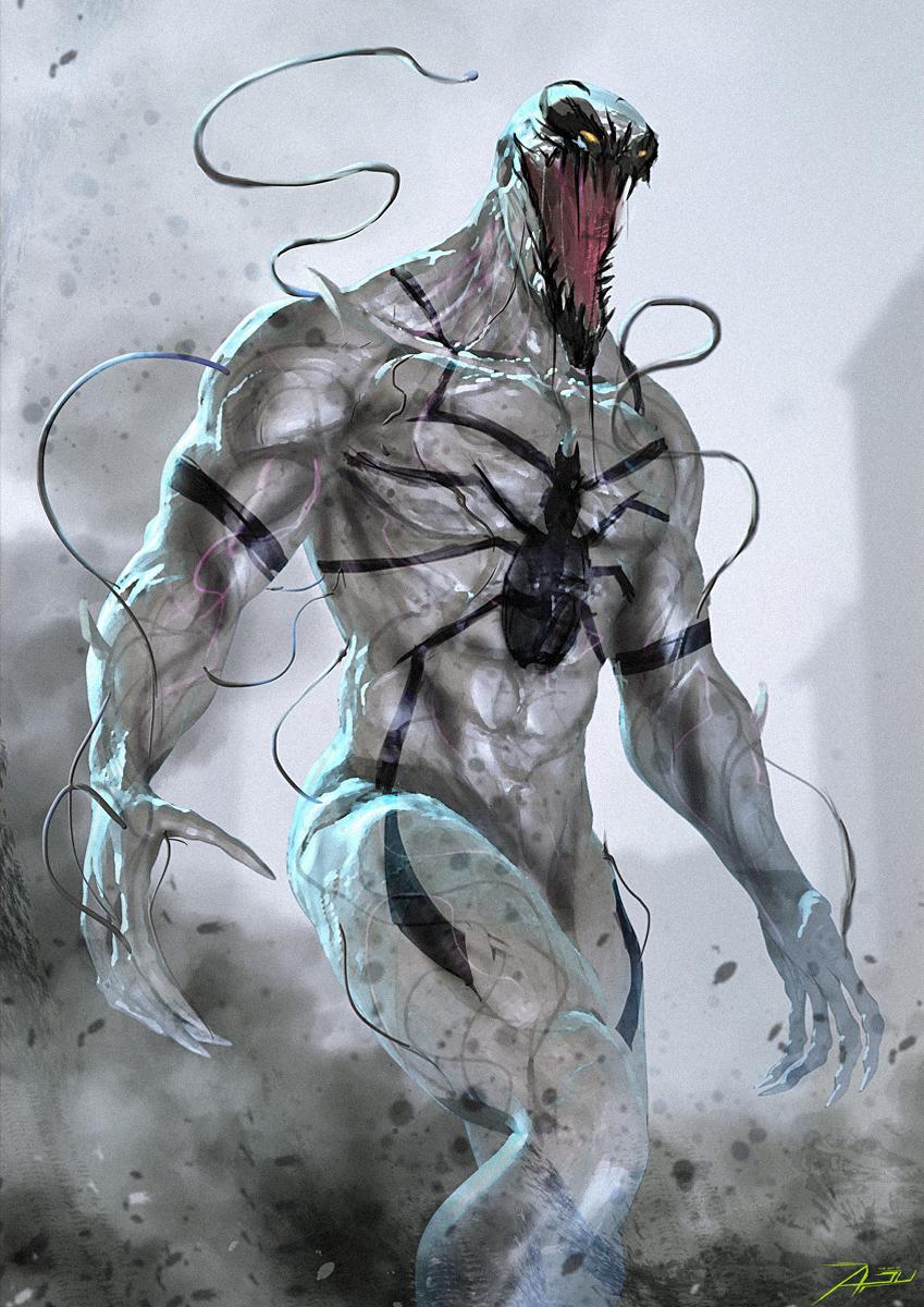Anti-Venom by AdduArt on DeviantArt