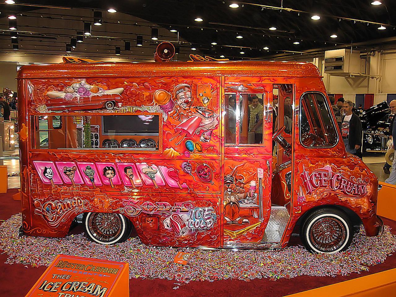 Mr Cartoon Ice Cream Truck by