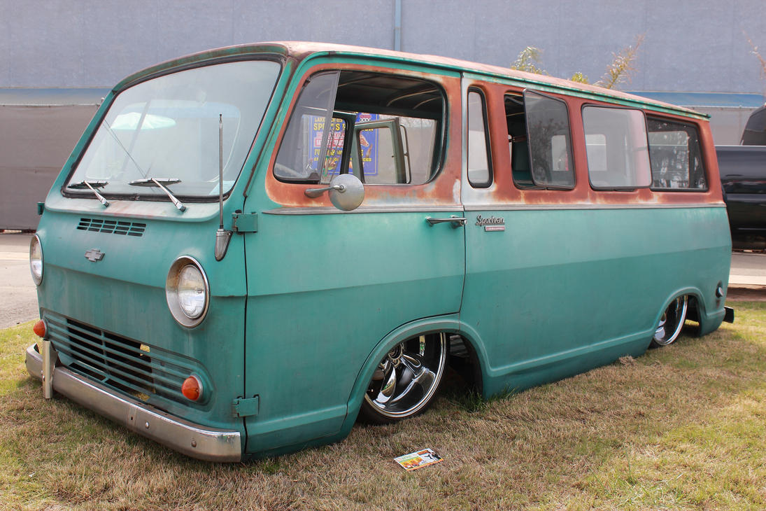 Rusty Chevy Van by DrivenByChaos on DeviantArt