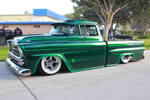 Green 59 Chevy Pick Up
