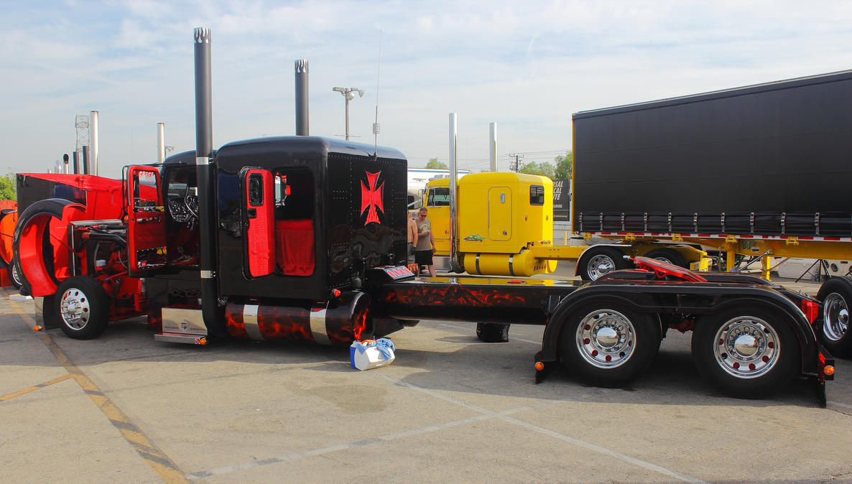 Hot Rod Semi-Trucks