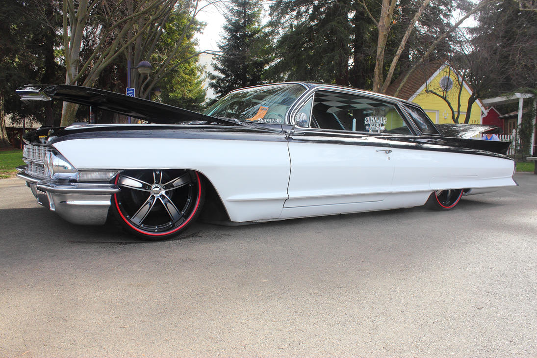 Red White and Black Caddy by DrivenByChaos