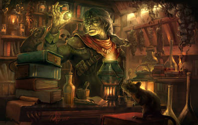 The Alchemist by PabloHerediaG