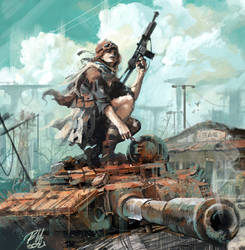 Wasteland Soldier