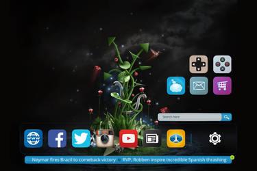 Desktop Dock by netpal