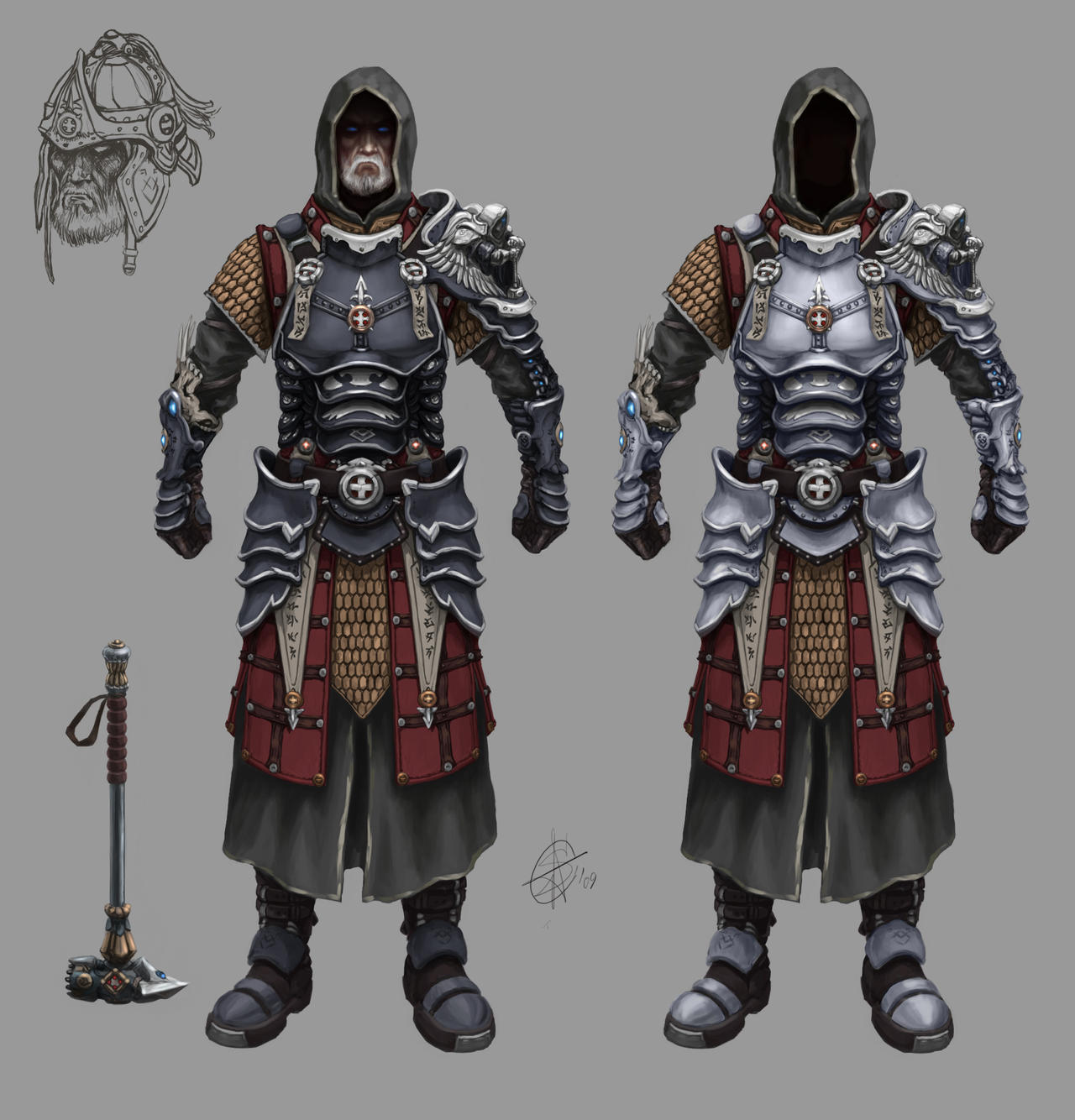 Paladin concept by Sokil-Su