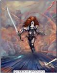 Eldar Howling Banshee Tarot v2