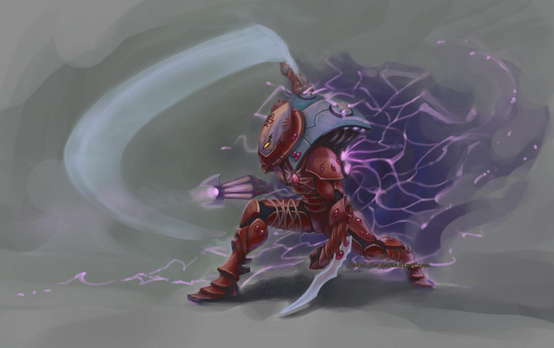Eldar Warp Spider by Sokil-Su