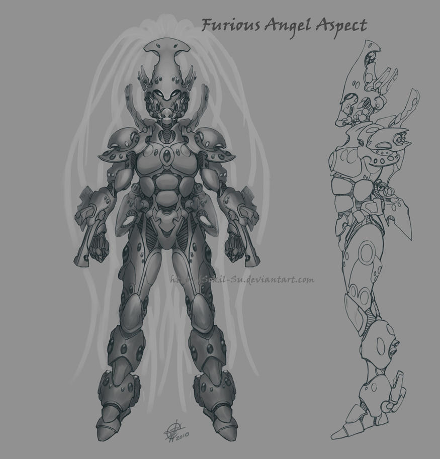 Eldar Furious Angel Concept by Sokil-Su