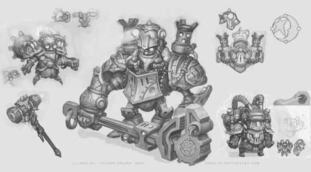 Allods Goblin Bosses by Sokil-Su