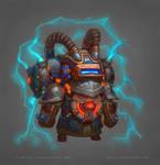 Allods: Goblins Boss 3 Colored