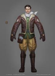 Allods: Pilot Costume by Sokil-Su
