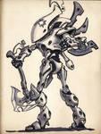 Eldar Wraithblade Inktober