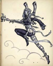 Eldar Harlequin Shadowseer