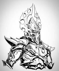 Phoenix Lord Fuegan Inktober