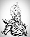 Phoenix Lord Fuegan Inktober by Sokil-Su