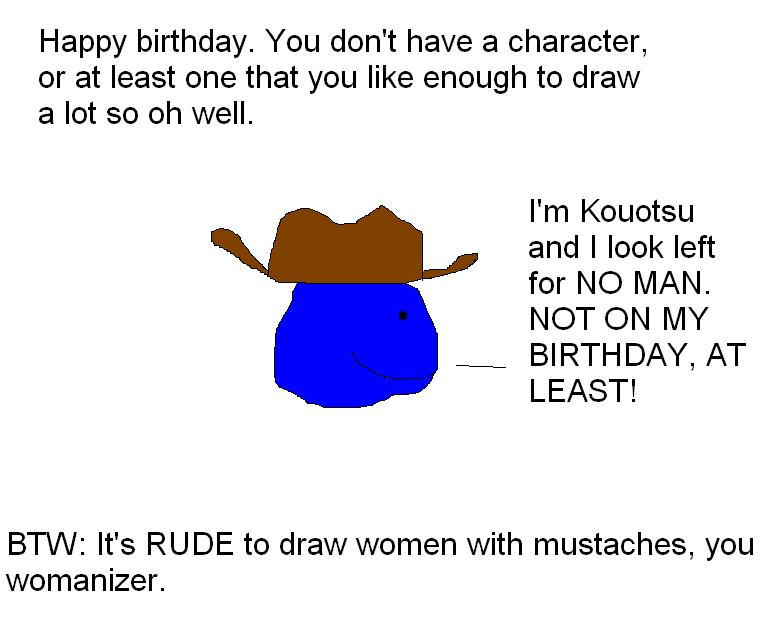 Kouotsu's Birthday by eichel