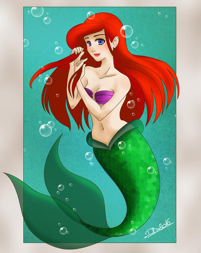 Ariel by Dboworms
